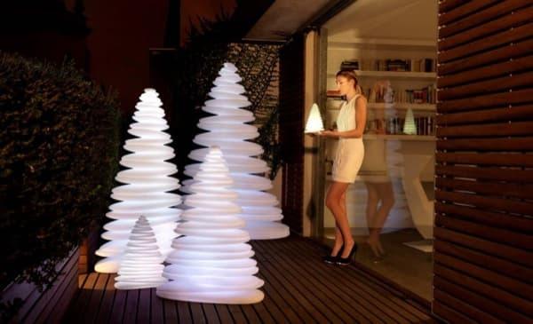Chrismy-modernas lámparas navideñas