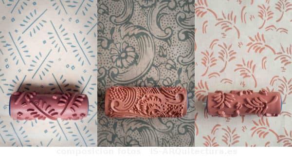 patrones pintar paredes con rodillo