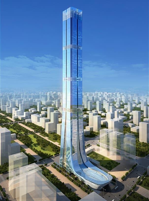 render-rascacielos-Evergrande-Tower-Jinan-China