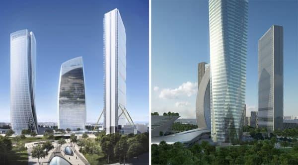 Citylife-Tres-Torres-Milan-renders