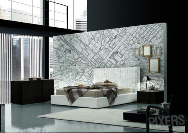 Decorar las paredes con fotomurales de pixers for Decoracion alternativa interiores