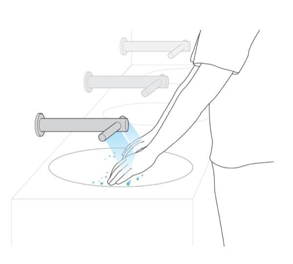 Extractor De Baño Potente:Airblade Tap: grifo automático y secador de manos, de Dyson