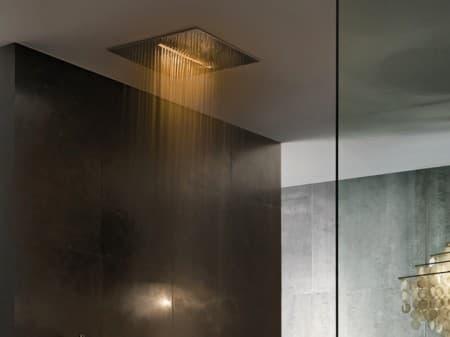 Acqua zone ducha de lluvia con cromoterapia for Ducha de lluvia techo
