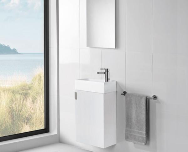 Este práctico mueble para el baño fue creado por la firma Gala