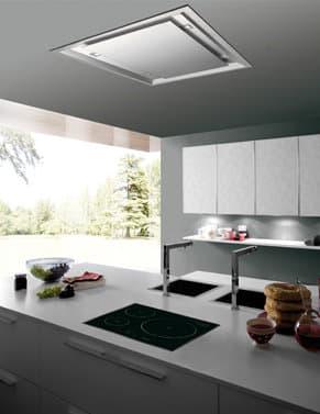 Inart campanas de cocina empotradas en falso techo - Extractor de aire para cocina ...