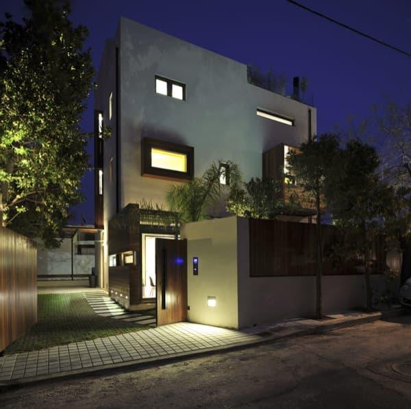 Casa-Psychiko-fachada-nocturna