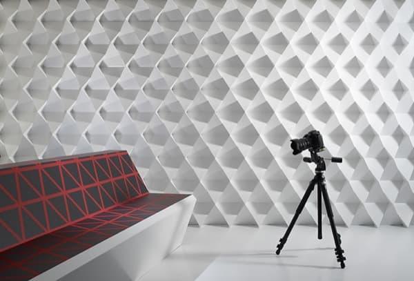 Geomatrix: decoración modular para paredes