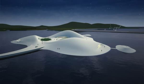 Museo de Arte de Pingtan, de MAD Architects