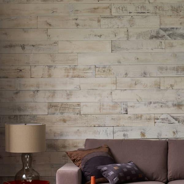 Decoracion mueble sofa revestimiento adhesivo pared - Revestimiento de pared ...