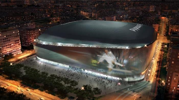 Remodelación del estadio del Real Madrid