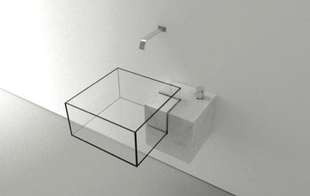 KUB lavabo minimalista