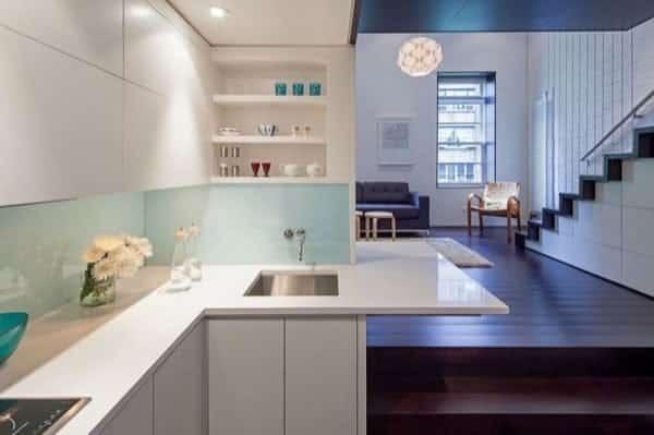 Micro-Lott cocina de apartamento reformado