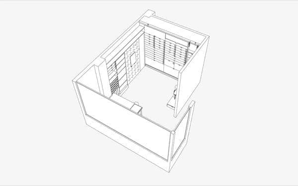 muebles-estudio-trabajo-Tel-Aviv-axonometria