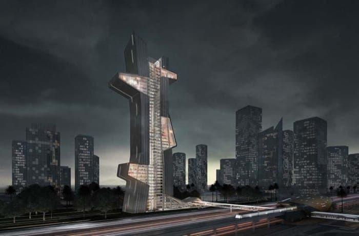 Blue Tape: Escuela de Arquitectura para Dubai