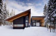 Residencia Kicking Horse: una premiada casa de vacaciones