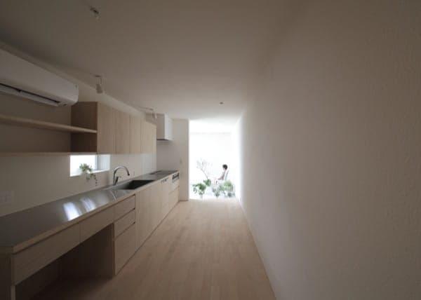 Imai house casa japonesa de 3 metros de anchura for Cocina 3 metros