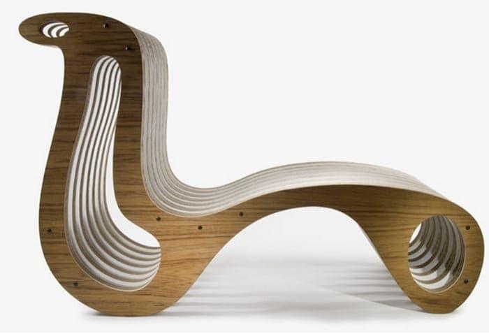 X2chair silla y chaise lounge en el mismo mueble - Silla tumbona ...