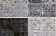 Antique: pavimento cerámico de apariencia hidráulica