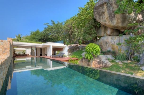 Villa-11A-Ko_Samui-piscina-rocas
