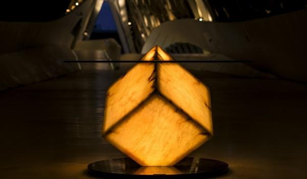 Cupíditas-mesa-comedor-retroiluminada-naranja