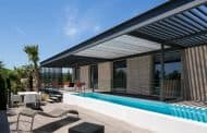 Maison H3: con piscina en la planta superior