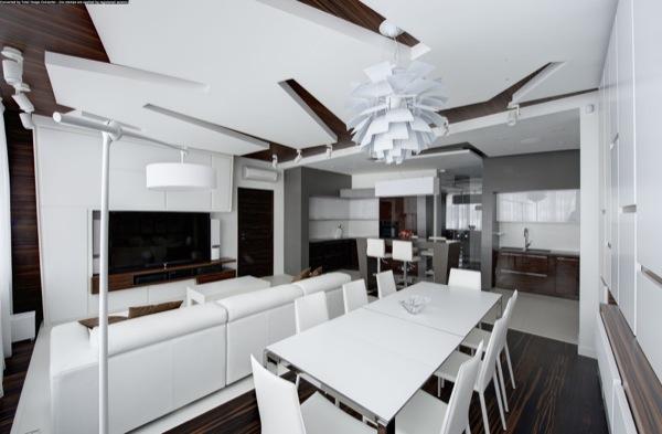 apartamento-Moscú-vista-general-sala-comedor-cocina