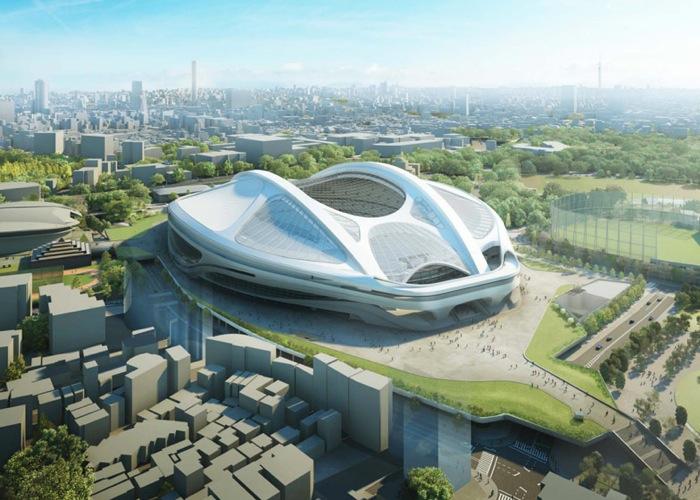 Zaha Hadid modifica diseño del Estadio Olímpico de Tokio