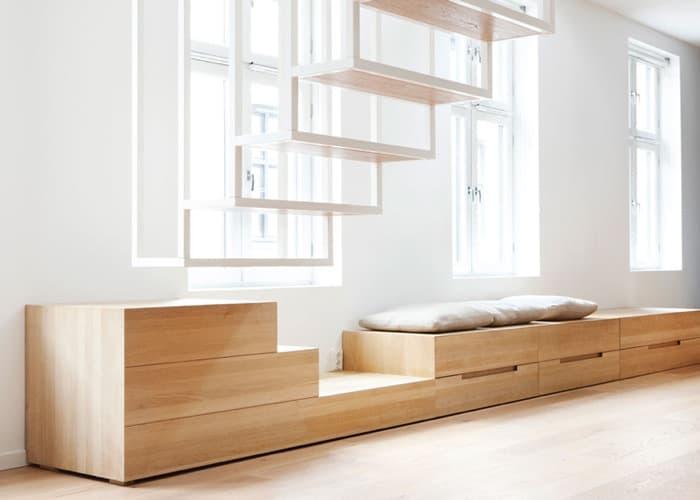 La escalera del apartamento Iduns Gate (Oslo)