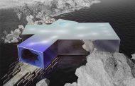 Edificio para exhibir el arte del buceo