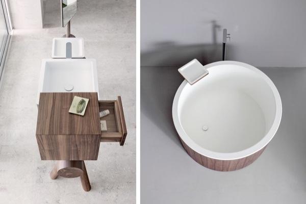 Muebles De Baño Wave:Dressage: atrevida colección para el cuarto de baño