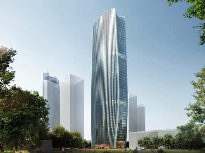 Torre Cenke, de Henn Architekten