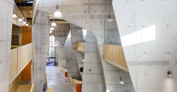 Edificio de la Escuela de Arquitectura en Queensland (Australia)