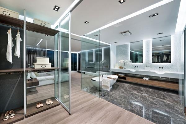 modern-cuarto-baño-Casa-Sai-Kung