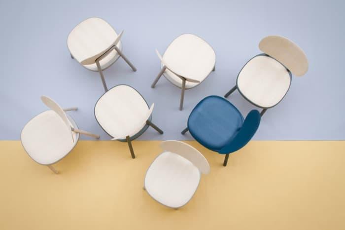 KITT: silla elegante de empaquetado superplano