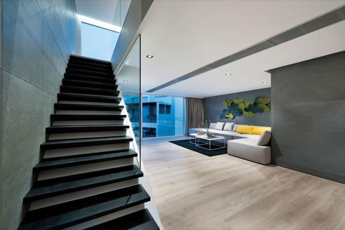 Casa de lujo en sai kung for Lujo interiores minimalistas
