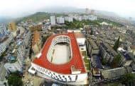 TianTai 2: escuela con pista de atletismo en la azotea