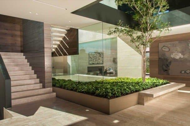Casa ml lujoso proyecto de gantous arquitectos for Planos de casas con patio interior