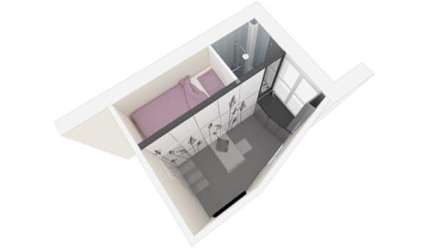 Habitacion-Paris-8m2-render-perspectiva