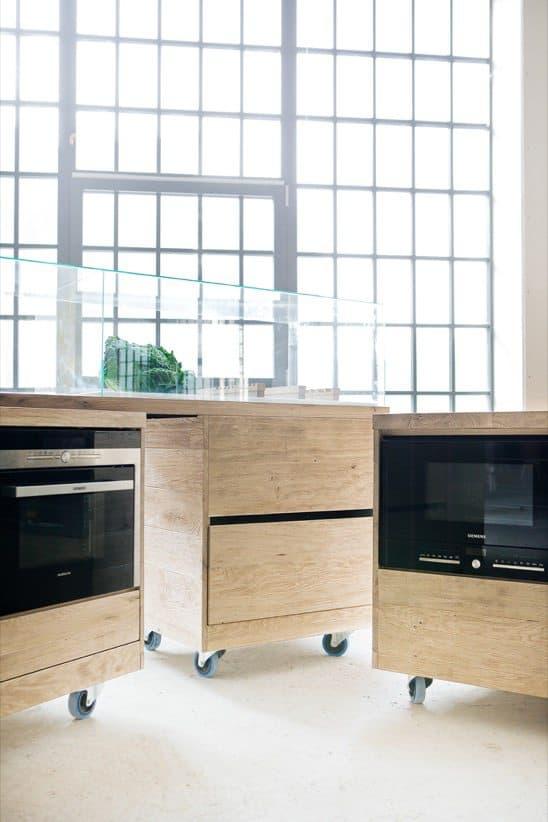 Foodlab ii muebles de cocina con ruedas - Alicatar cocina detras muebles ...