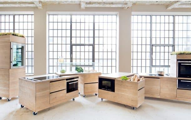 Foodlab ii muebles de cocina con ruedas - Muebles de cocina modulares ...