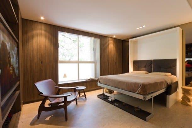 Apartamento con muebles convertibles studio brasilia 27 for Muebles apartamento