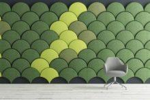 Ginkgo-panel-decorativo-acustico-verde