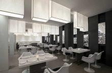 diseño de interiores en restaurante