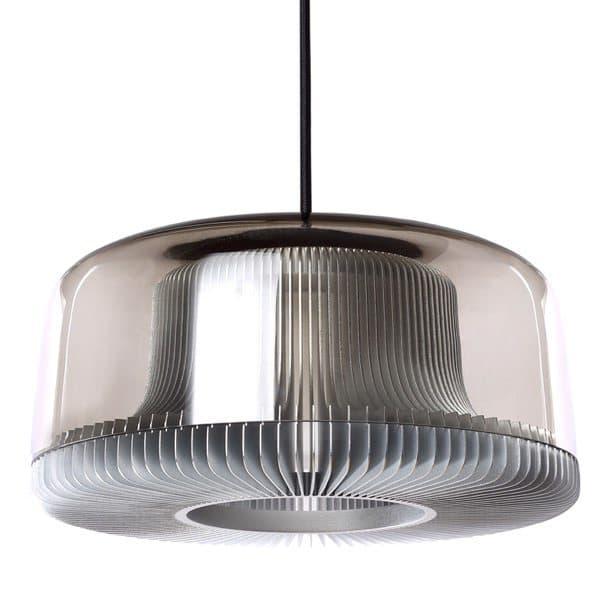 Dub: lámparas de techo modernas con pantalla de vidrio
