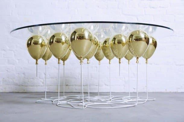 Extractor De Baño Helios:The Up 2015: Mesa de café con globos que parecen flotar
