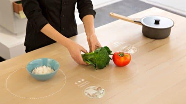 table-for-living-ikea cocina del futuro