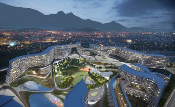 Esfera-Center-City Zaha Hadid en Monterrey