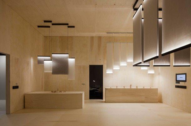 Curtain: lámparas de diseño que separan espacios