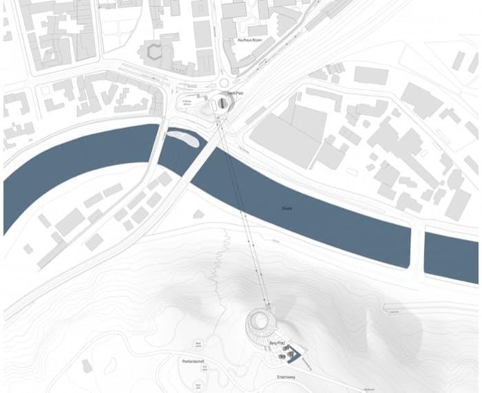 teleferico-Bolzano-Snohetta-plano-situacion