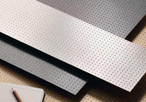 METAL revestimiento metálico patrón dots